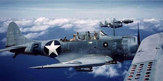 Douglas SBD Dauntless Scout Dive Bomber